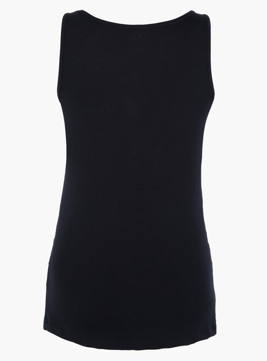 Basic Sleeveless Maternity Vest
