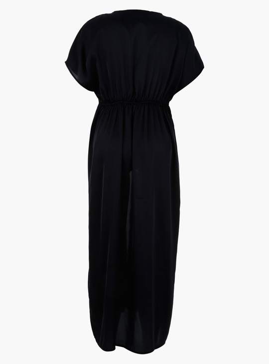 Maternity Longline Shrug with Short Sleeves
