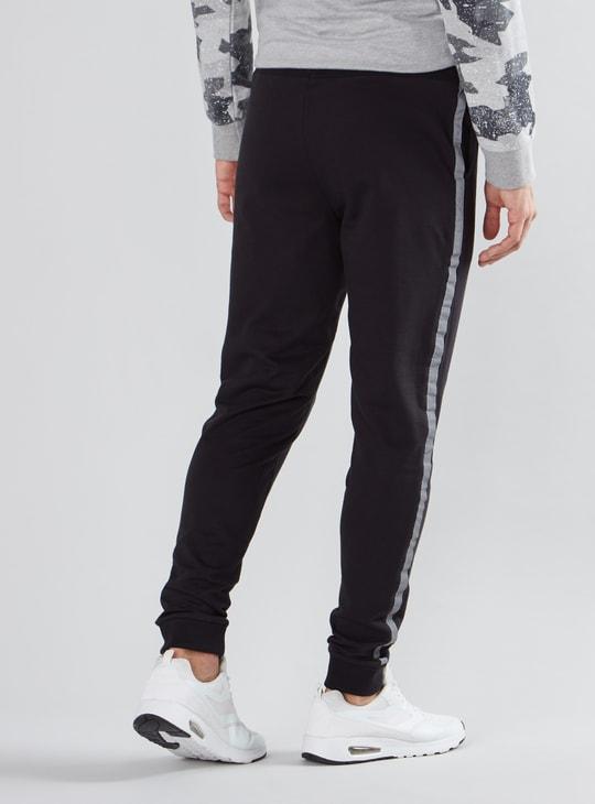 Batman Printed Jog Pants with Pocket Detail and Drawstring