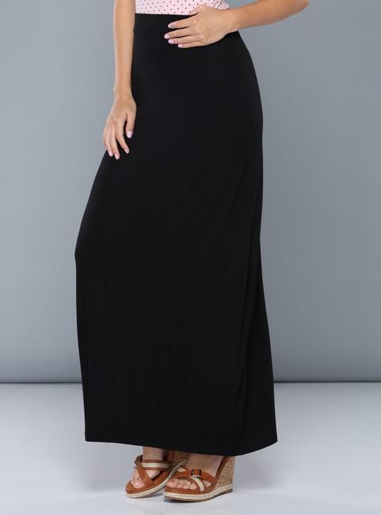 Maxi Skirt with Elasticised Waistband
