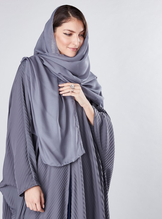 Farasha Cut Pleated Abaya