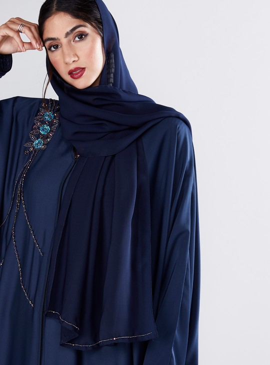 Embellished Abaya with Long Sleeves