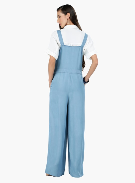 Full Length Jumpsuit with Shoulder Straps