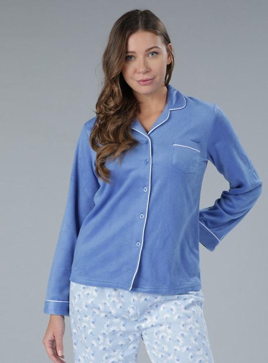 Printed Pyjamas and Shirt Set