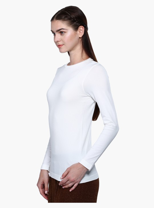 Round Neck Inner with Long Sleeves