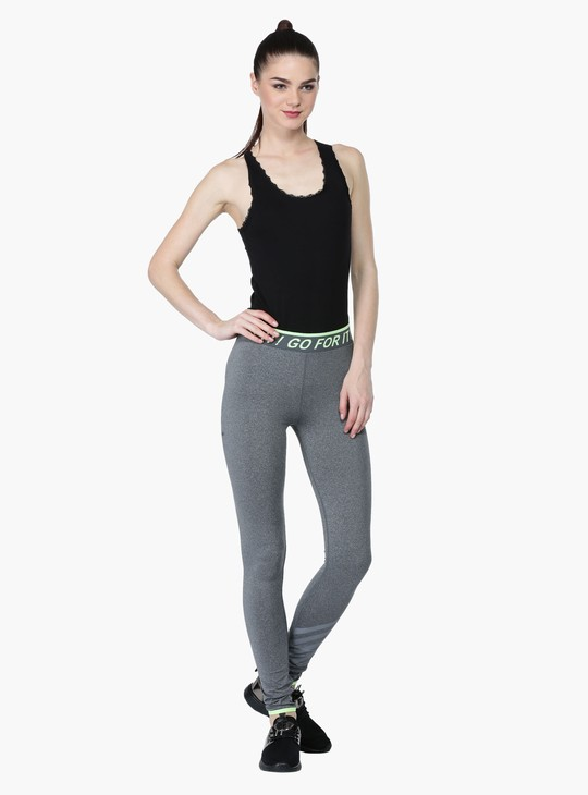 Elasticised Track Pants in Slim Fit