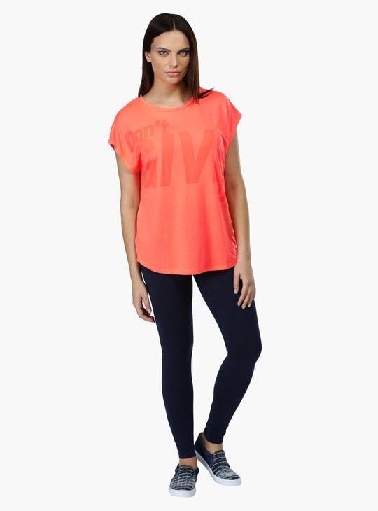 Short Sleeves Round Neck T-Shirt