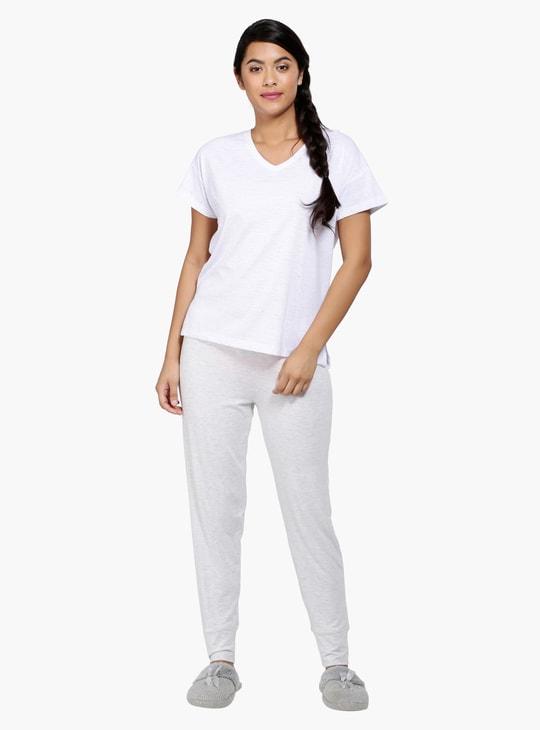 Full Length Pyjama with Elasticised Waistband