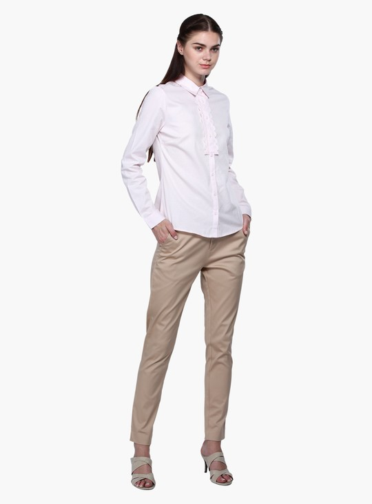 Long Sleeves Shirt with Complete Placket