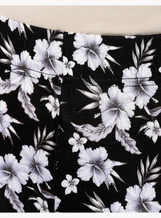 ليقنز ضيّق بطبعات الأزهار