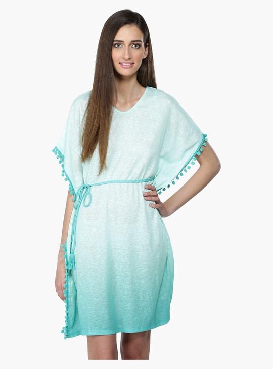 Kaftan Dress with Tie Up