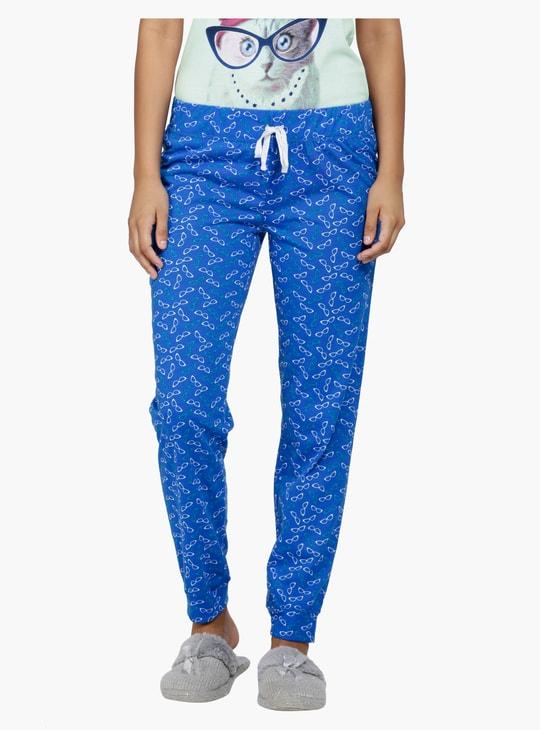 Printed T-Shirt and Pyjama Set