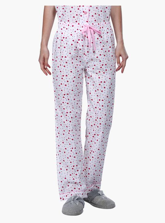 Printed Shirts and Pyjamas Set