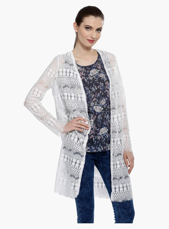 Lace Shrug with Long Sleeves