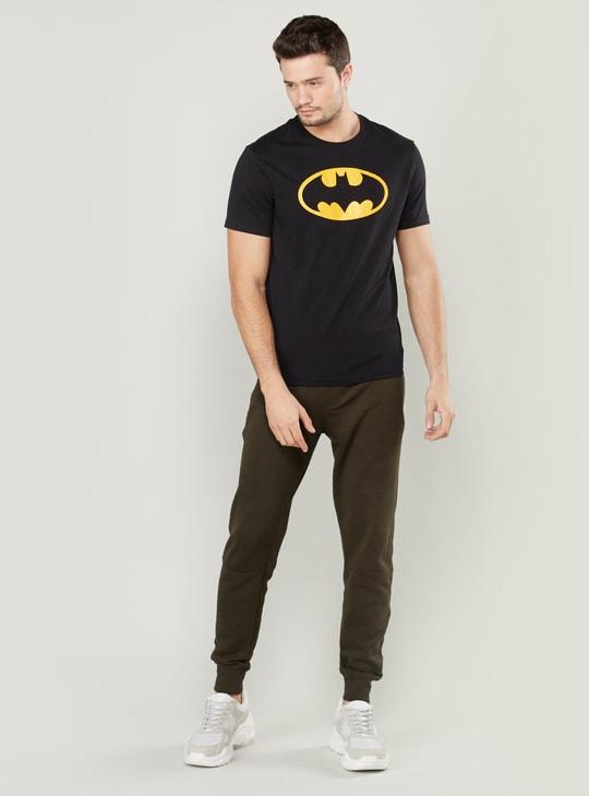 تيشيرت بأكمام قصيرة وطبعات باتمان
