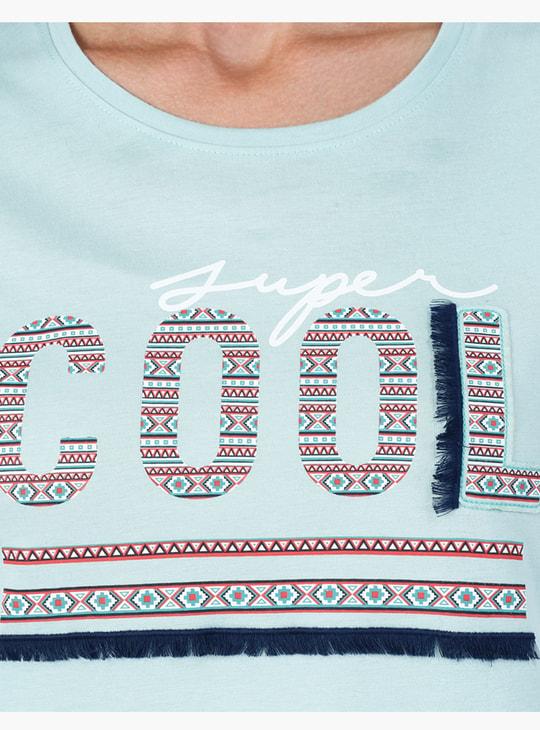 Printed Short Sleeves T-Shirt