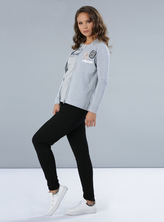 Embellished Long Sleeves Jacket