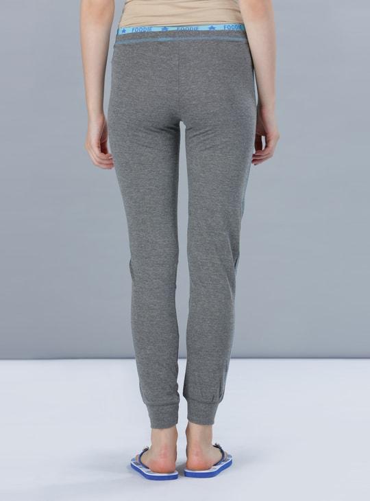 Printed Cuff Pyjamas with Drawstring