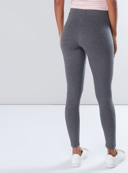 Antipilling Leggings with Elasticised Waistband