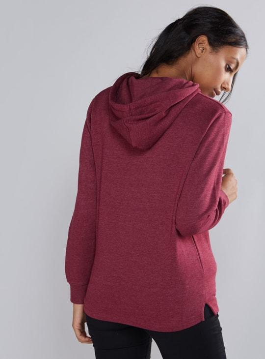 Long Sleeves Sweatshirt with Hood