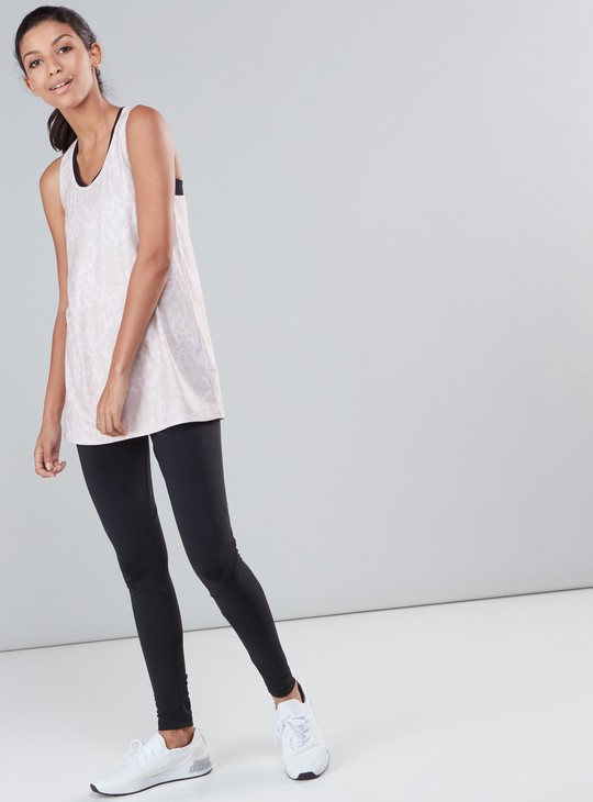 Compression Leggings with Elasticised Waistband