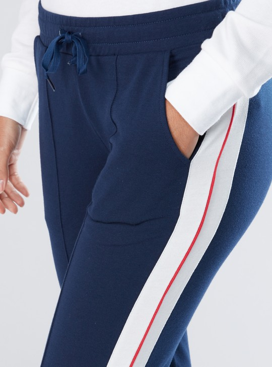 Tape and Pocket Detail Track Pants