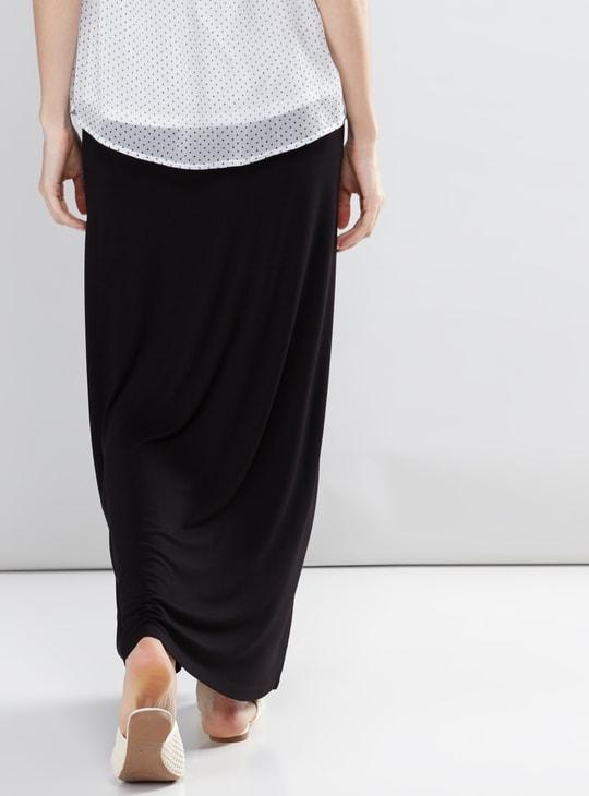 Maternity Maxi Skirt with Elasticised Waistband