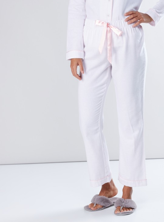 Long Sleeves Shirt and Full Length Pyjama Set