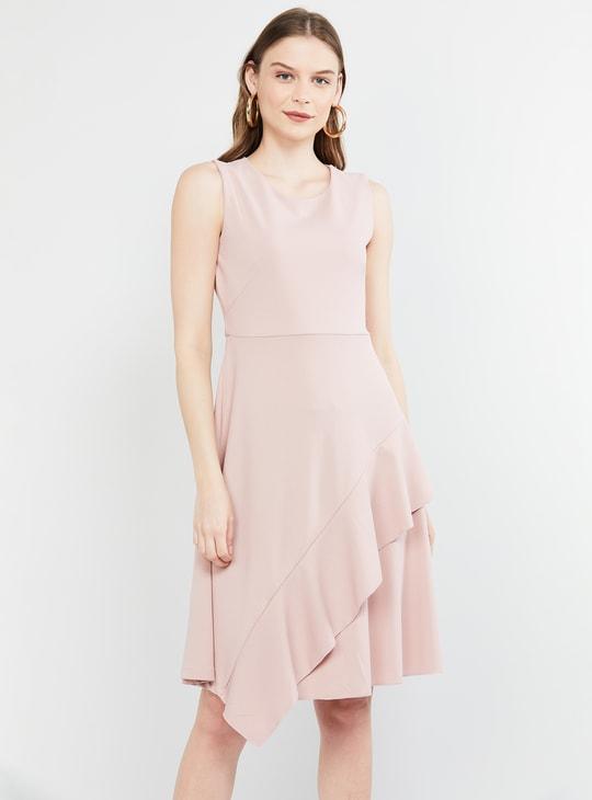 MAX Solid Sleeveless Dress