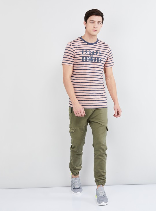 MAX Solid Carrot Fit Joggers