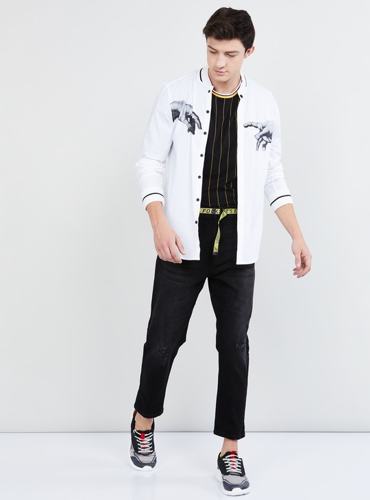 MAX Distressed Carrot Fit Jeans