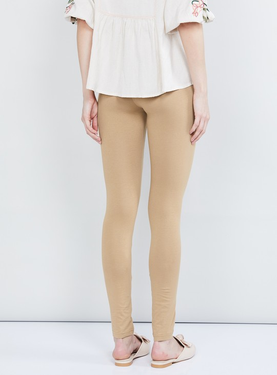 MAX Solid Ankle Length Leggings