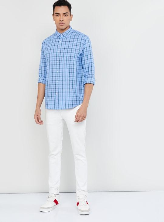 MAX Checked Casual Slim Fit Shirt