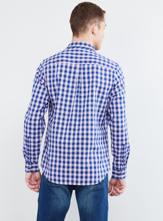 MAX Checked Casual Slim Fit Shirt