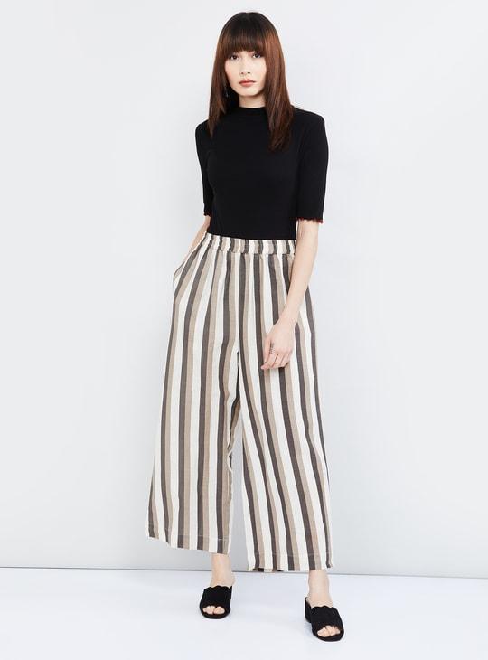MAX Striped Woven Pants