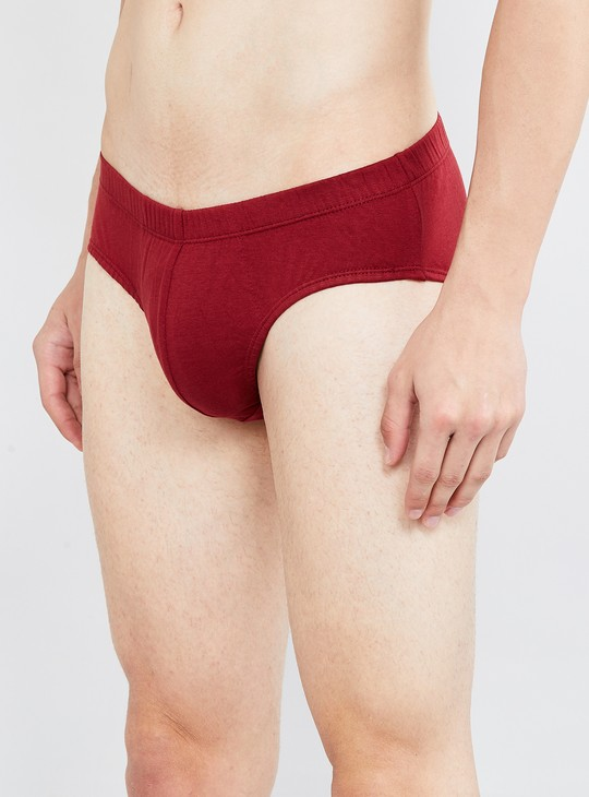 MAX Solid Anti-Bacterial Briefs - Pack of 3