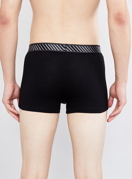 MAX Solid Anti-Bacterial Stretch Trunks- Pack of 2