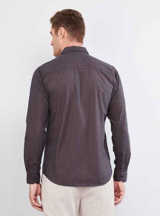 MAX Solid Full Sleeves Casual Slim Fit Shirt