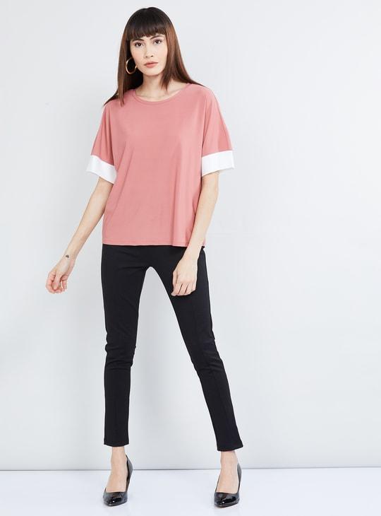 MAX Solid Short Sleeves T-shirt