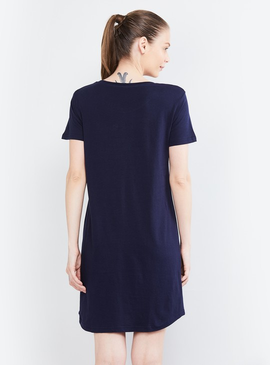 MAX Embroidered Night Dress