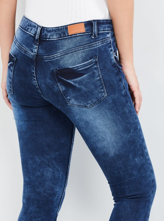 MAX Mid-Washed Skinny Jeans