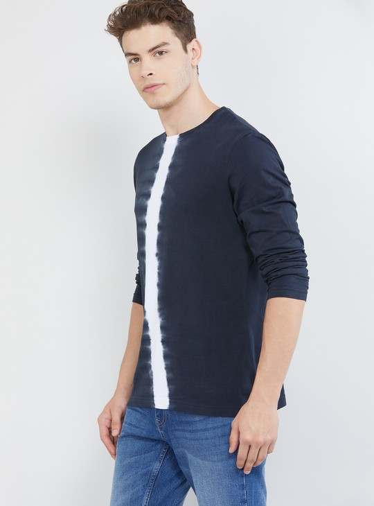 MAX Ombre Dyed Ultra Slim Fit Crew Neck T-shirt