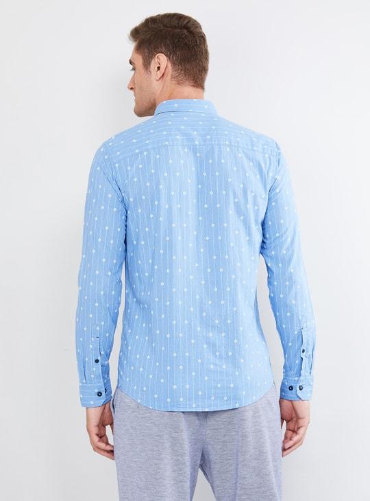 MAX Printed Casual Slim Fit Shirt