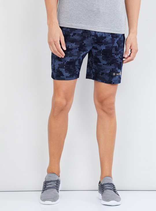 MAX Printed Knitted Casual Shorts