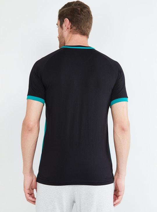 MAX Striped Short Sleeves Regular Fit T-shirt