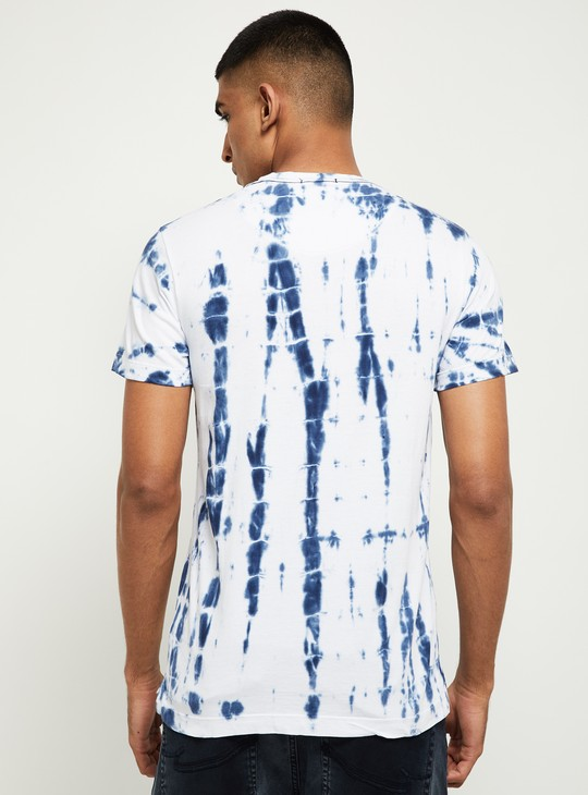 MAX Tie and Dye Crew Neck T-shirt