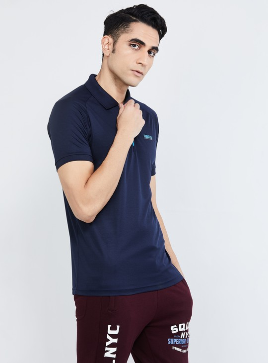 MAX Freshon & Neudri by N9 Solid Regular Fit Polo T-shirt
