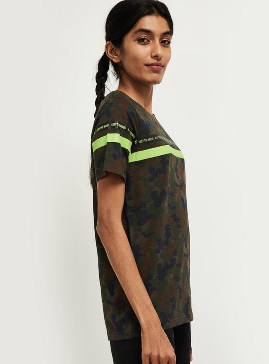 MAX Printed Short Sleeves Training T-shirt