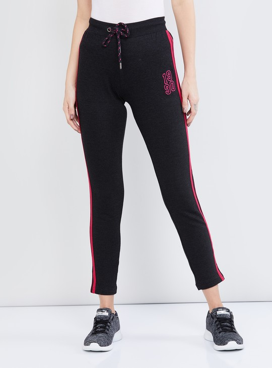 MAX Striped Elasticated Track Pants