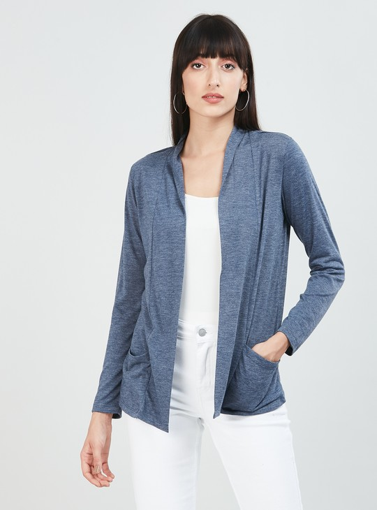 MAX Textured Shrug with Insert Pockets